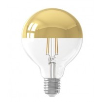 LED Crown Gold Globe G95 4w E27 Dimmable 240V