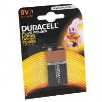 Duracell Plus Power Battery 9v MN1604 6LR61