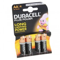 Duracell Plus Power Battery AA LR6 MN1500 4pk