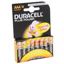 Duracell Plus Power Battery AA LR6 MN1500 8pk