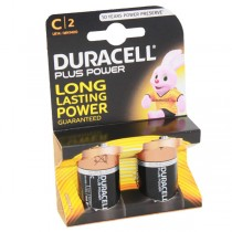 Duracell Plus Power Battery C MN1400 LR14 2pk