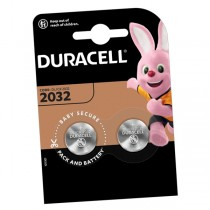 Duracell Car Key Battery CR2032 DL2032 2 Pack