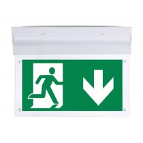 LED WALL SURFACE  EMERGENCY EXIT LIGHT 2W