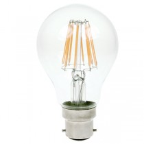 LED Filament Bulb 240v 7w B22d Dimmable