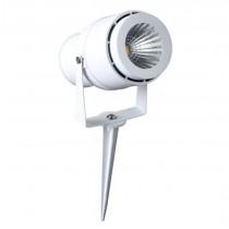 LED GARDEN LAMP 12W WHITE  BODY 3000K