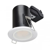 LED Downlight White GU10 Fire Rated with lamp