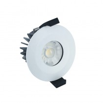LED Downlight Fire Rated 6W 38° 3000K IP65