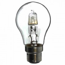 Low Energy Halogen Lightbulb GLS 240V 53W BC