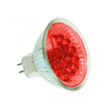 LED MR16 BULB GX5.3 RED 20 LED