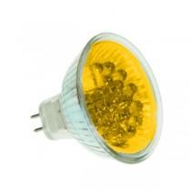 LED MR16 BULB GX5.3 YELLOW 20 LED