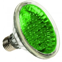 PAR30 LED SPOTLIGHT BULB E27 GREEN 24 LED