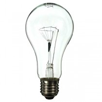 GLS Light Bulb 240V 150W E27 Clear Industrial