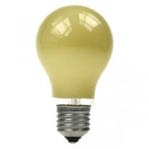 GLS Light Bulb 240V 25W E27 Yellow