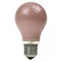 GLS Light Bulb 240V 25W E27 Pink