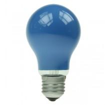 GLS Light Bulb 240V 25W E27 Blue