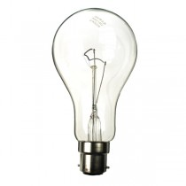 GLS Light Bulb  240V 200W B22D Clear