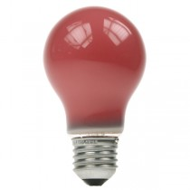 GLS Light Bulb 240V 15W E27 Red