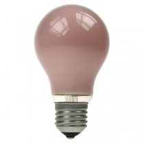 GLS Light Bulb 240V 60W E27 Pink