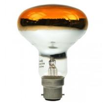 Reflector Spot R80 240V 60W B22D Amber