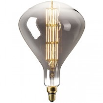 DECORATIVE LED CONE 8W E27 TITANIUM DIMMABLE