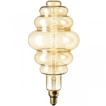 DECORATIVE LED HIVE 6W E27 GOLD DIMMABLE