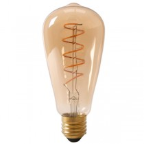 LED Edison Bulb 4w E27 Gold Spiral Filament
