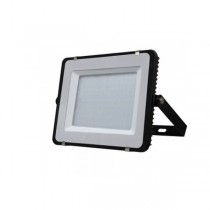 100W SLIMLINE LED FLOODLIGHT 6500K BLACK