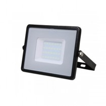 30W SLIMLINE LED FLOODLIGHT 4000K BLACK
