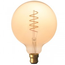 Calex LED Edison Globe 120mm 4w B22d Gold
