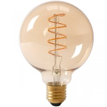 Calex LED Edison Globe 120mm 4w E27 Gold