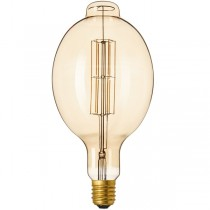 DECORATIVE LED ELLIPSE 11W E27 GOLD DIMMABLE