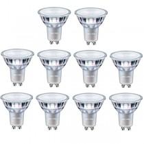 10x Philips Master LEDspot D 4.9-50W GU10 940