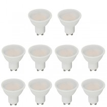 10 Pack V-TAC LED GU10 5w 3000K
