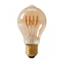 LED Edison Lightbulb 4w E27 Gold Spiral
