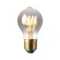 LED Edison Lightbulb 4w E27 Titanium Spiral