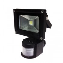 10W LED FLOODLIGHT 100W REPLACEMENT WITH PIR