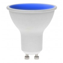 LED GU10 BLUE 7W 240V DIMMABLE