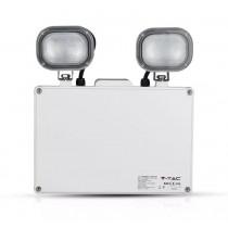 LED EMERGENCY TWIN EXIT LIGHT 6W VTAC