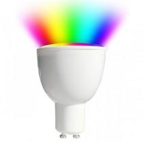 V-TAC LED GU10 Smart Spotlight 4.5w RGB